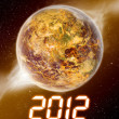 Happy new year 2012 — Stock Photo #7462311