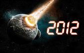с новым годом 2012 — Стоковое фото