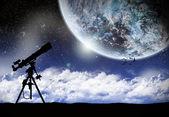 Uzay gezegen manzara — Stok fotoğraf