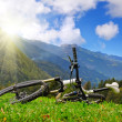 Bicycle tourism concept — Stock Photo