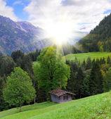 Alpská krajina — Stock fotografie