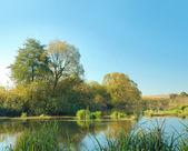Podzimní krajina — Stock fotografie
