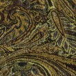 An exotic brown color pattern weaved fabric as textural backgrou - Stock Photo