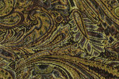 An exotic brown color pattern weaved fabric as textural backgrou — Stock Photo