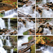 Stock Photo: Waterfall in forest