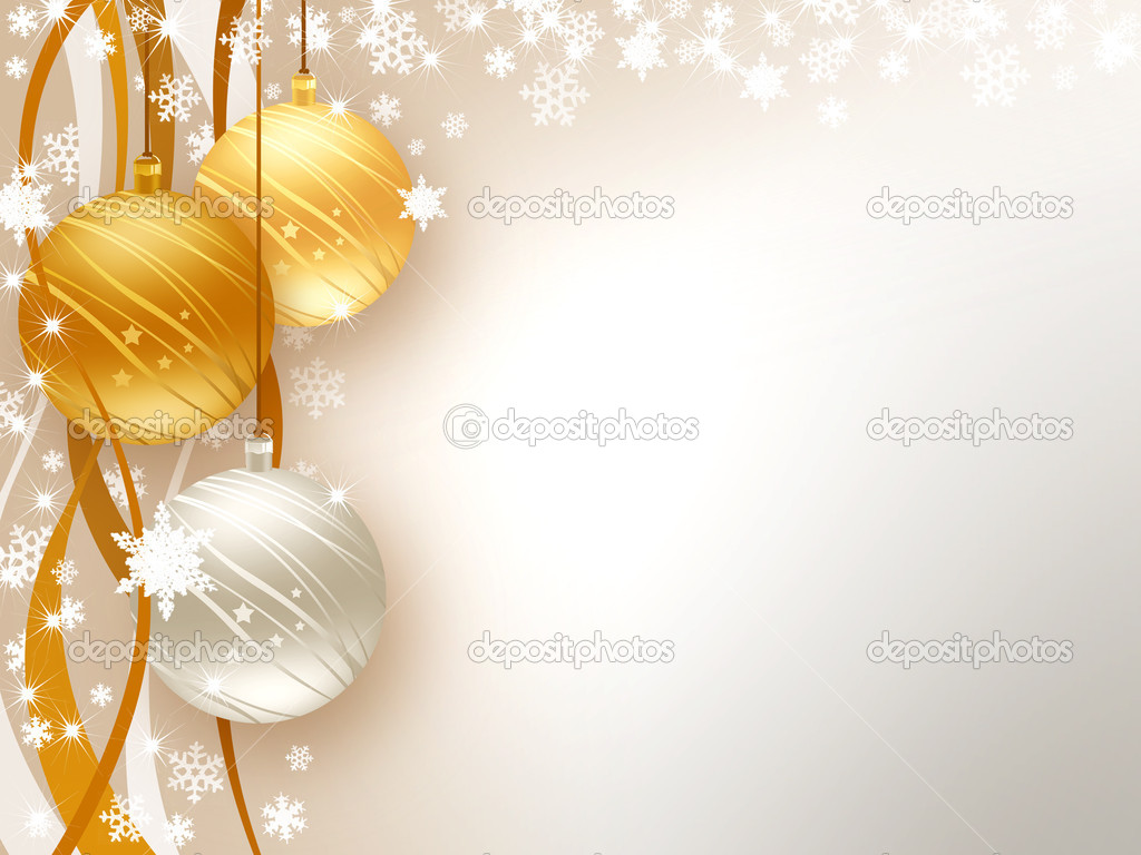 Background wishes for Christmas and Happy New Year — Stok fotoğraf #6828852