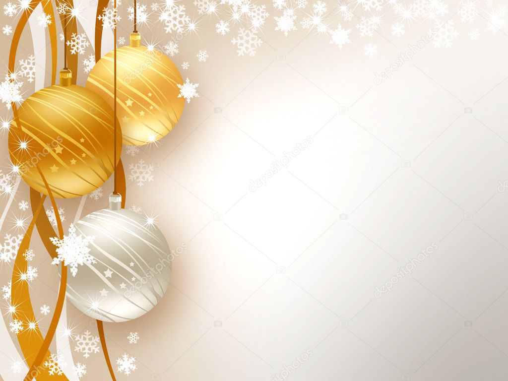 Background wishes for Christmas and Happy New Year — Foto de Stock   #6828852
