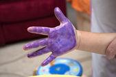 Hand gekleurde — Stockfoto