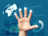 Reimbursement trends — Stock Photo