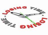 Verliezen van tijd — Stockfoto