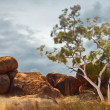 Devils marbles Australia — Stock Photo
