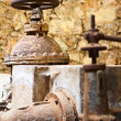 Old rusty vintage industrial machinery — Stock Photo #7637944