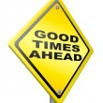 Good times ahead — Stock Photo