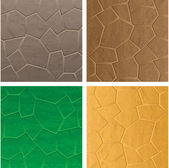 Stone textures — Stock Vector