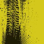 žluté pozadí — Stock vektor