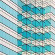 Pattern of an skyscrapper - Stock Photo
