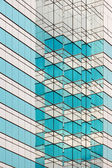Pattern of an skyscrapper — Stock Photo