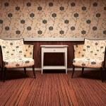 Interior design of modern living room — Stock Photo