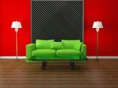 Bright interior design — Foto Stock