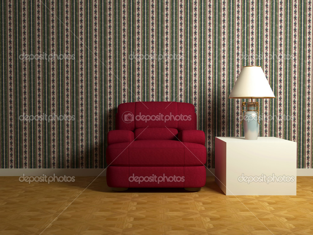 Décoration romantique de chambre moderne — photographie kosheen ...