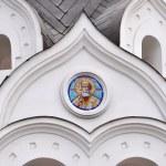White ortodox church (detail) — Stock Photo #7576616