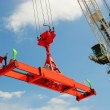 Stock Photo: Crane and spreader
