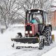 An automated snow removal — Stock Photo #7577682