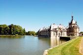 Gamla slottet i chantilly — Stockfoto