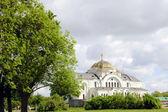 White Orthodox Church — Stock Photo