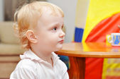 Two years child in a room — Stock Photo