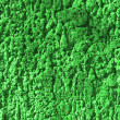 Texture green granulates of packing — Stock Photo