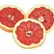 Ripe grapefruit on a white background — Stock Photo #6868762