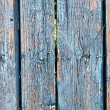 Close up of gray wooden fence panels — Stock Photo