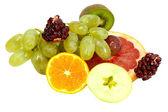 Ripe tropical fruits — Stock Photo