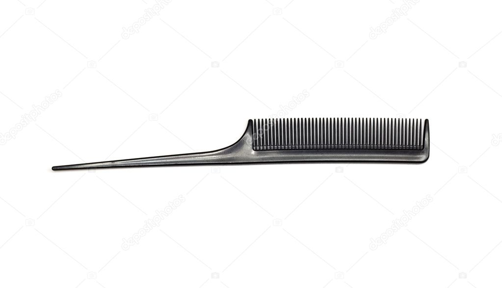 Comb isolated on white close up look  — Stock Photo #6863483