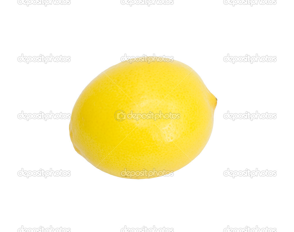 Lemon on a white background   Stock Photo #6863856