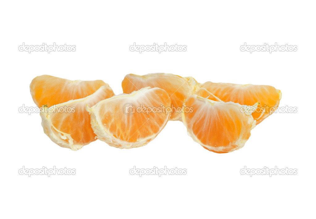 Segments of tangerine.  — Stock Photo #6863872