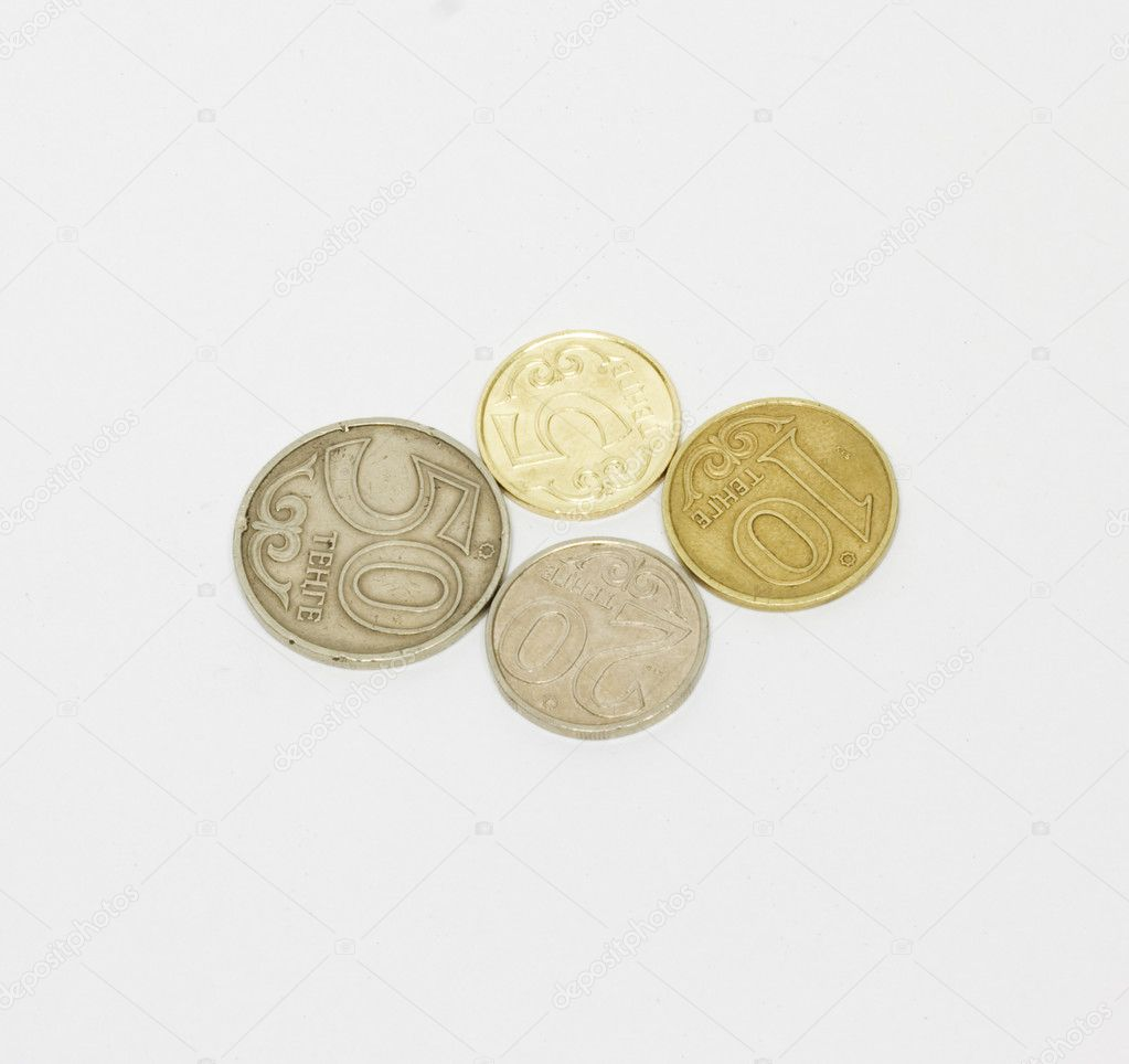 Kazakhstan coins  — Stock Photo #6863890