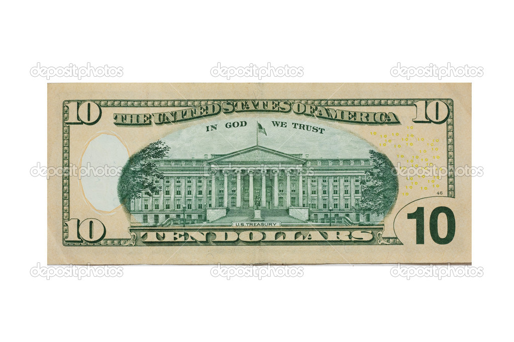 Ten dollar  — Stock Photo #6865331