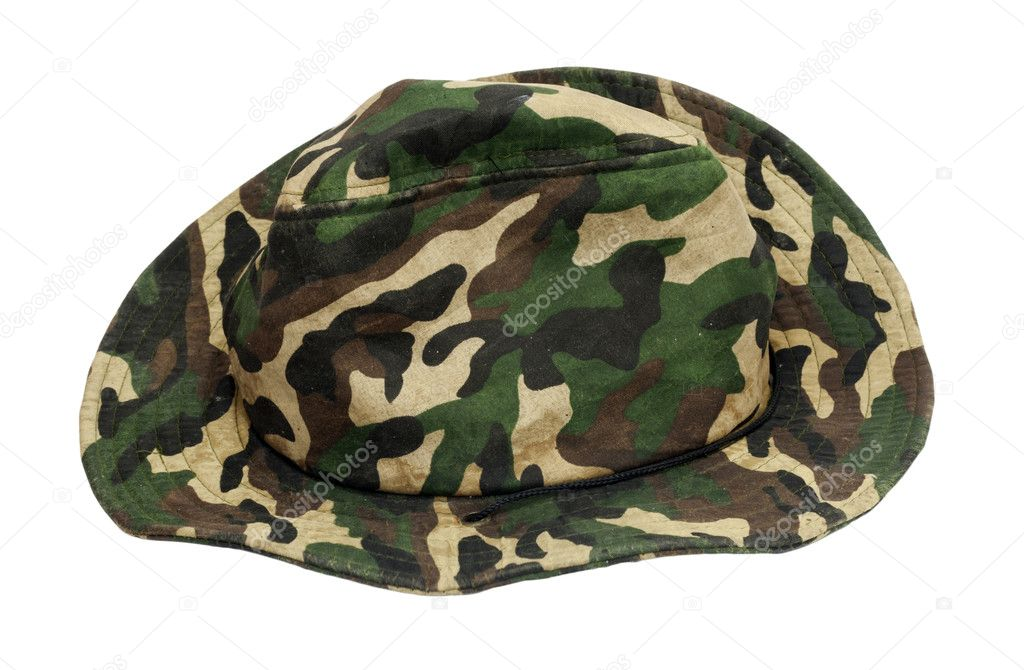 Military khaki hat  — Stock Photo #6866740