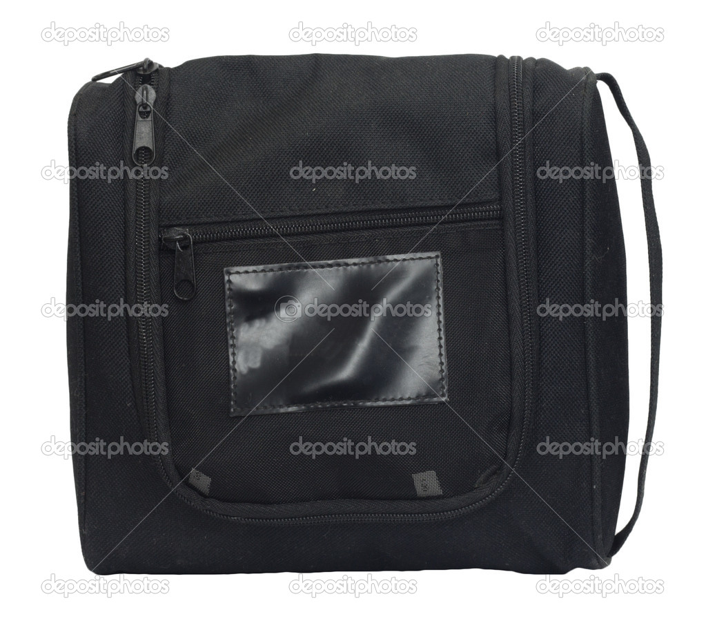 Black man's bag on a white background — Stock Photo #6867323