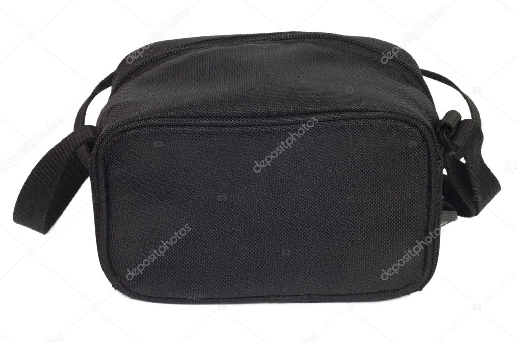 Black man's bag on a white background — Stock Photo #6867784