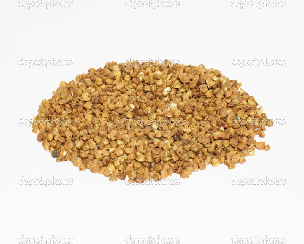 Buckwheat on isolated background  — Stock Photo #6873606