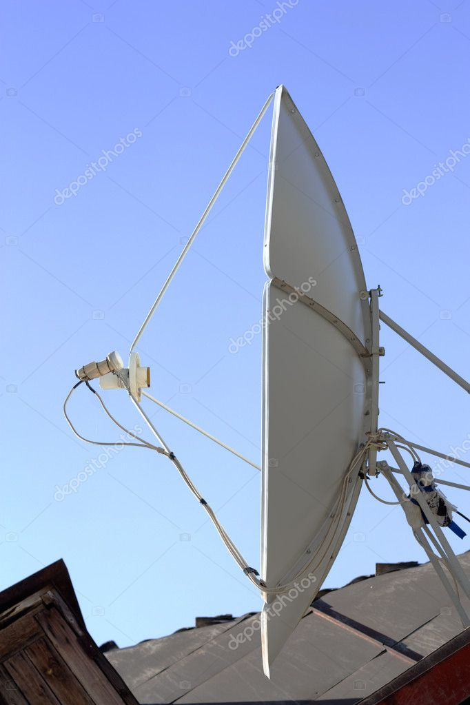 A satellite dish  Stock Photo #6874246