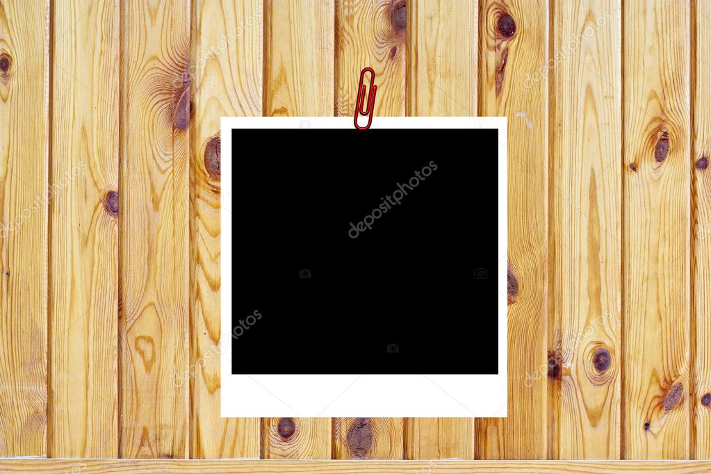 Wooden background of the harvest with frame — Stock Photo #6874332
