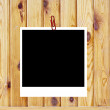 Wooden background of the harvest with frame — Stock Photo