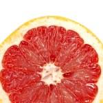 Red grapefruit close-up macro shot — Stock Photo #7486517