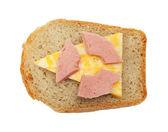радиоактивные сэндвич — Стоковое фото
