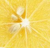 Limón. macro — Foto de Stock