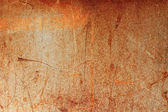 Rusted brown iron background texture wallpaper — Stock Photo